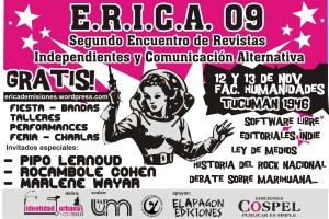 afiche ERICA 2009 - listo dice3